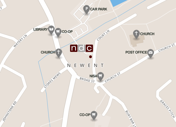 How to get to Newent Dental Care